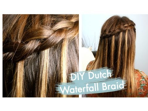 DIY Dutch Waterfall Braid