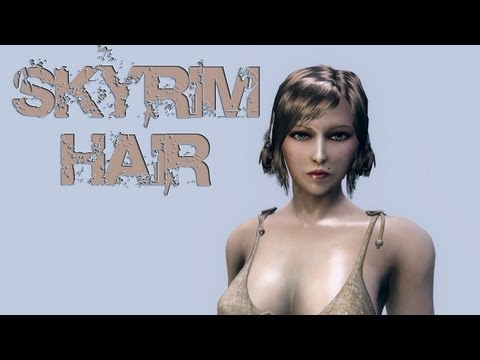 Skyrim Mod: Hair Packs of Fallout 3 (HD)