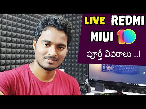 Sunday Live Talk |  Redmi Miui 10 Updates & Features TELUGU