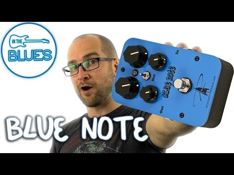 Rockett Pedals Blue Note OD Overdrive Pedal