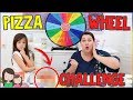 GLÜCKSRAD PIZZA CHALLENGE 😳 Mystery Wheel of Pizza 🍕 Alles Ava