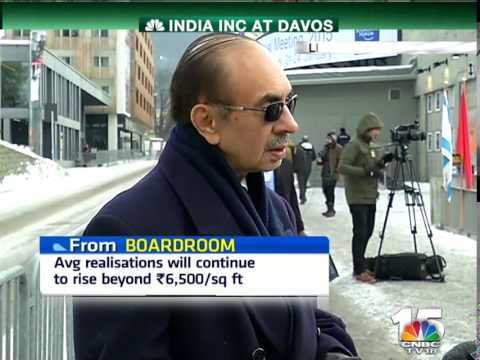 Closing Bell - W.E.F. Adi Godrej, Godrej Group, INDIA INC AT DAVOS
