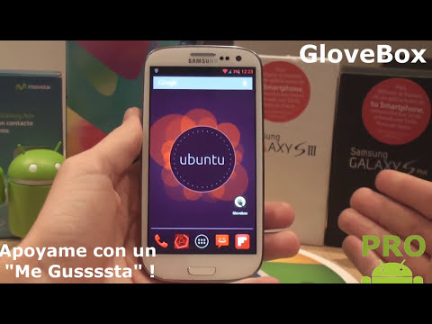 Nuevo en Personalizacin: Barra de UbuntuPhone en Android ! Pro Android