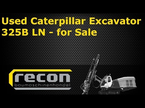 Used Caterpillar Excavator 325BLN for Sale - CAT Tracked Excavator - Used Construction Equipment