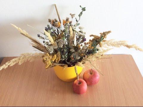 Составление букетов из сухоцветов своими руками 48