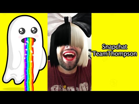 Sia Snapchat Filter is LIVING