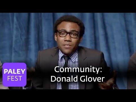 Community - Real moments with Chevy Chase, Donald Glover, and cast (Paley Center Interview)