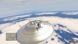 GTA 5 Easter Eggs : Flying UFO #2