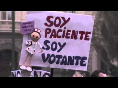 Raw: Health Care Privatization Opposed in Spain