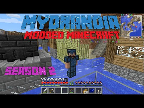 Mydrandia | Modded Minecraft S2E19: Crag Base Plans