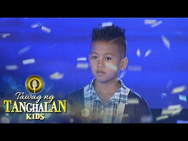 Tawag ng Tanghalan Kids: John Jamiel wins!