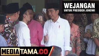 Sowan Kyai, Jokowi Dapat Wejangan Kyai Dimyati Rois