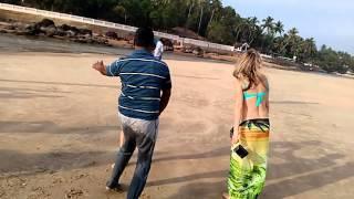 Goa enjoy with foreign girl video