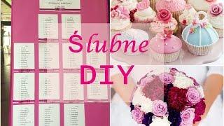 Ślubne DIY! Jak zrobić winietki, prezenciki, tablicę i wiele innych!