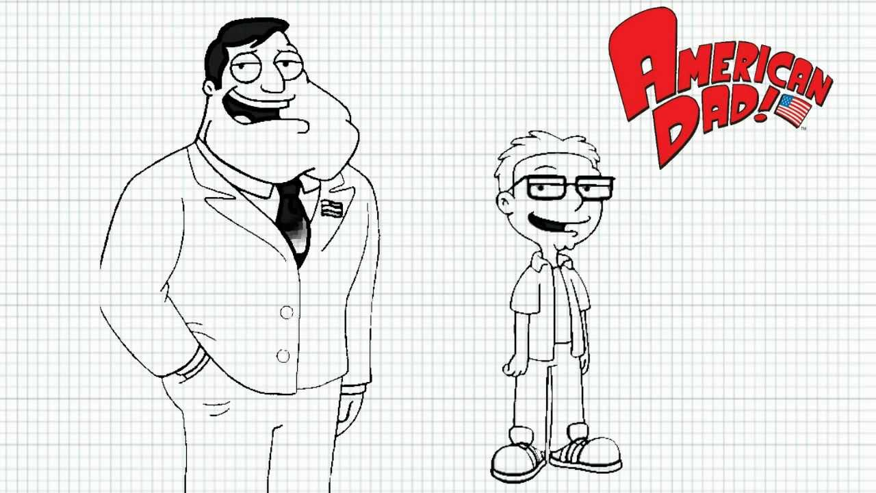 American Dad Drawing American Dad How to Draw