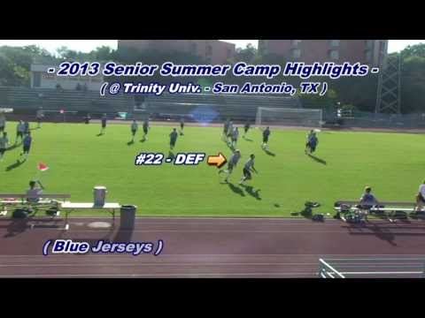 Andrew Landon - 2013 Senior Summer Camp Highlights
