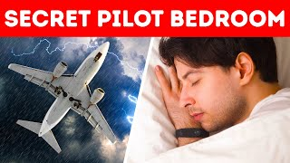 The Secret Place Where Pilots Sleep While Flying