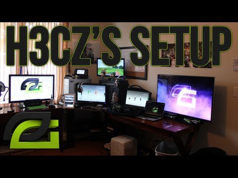 OpTic H3CZ: THE BEST ULTIMATE GAMING SET UP VIDEO 2013 Edition OpTic Cribs!!