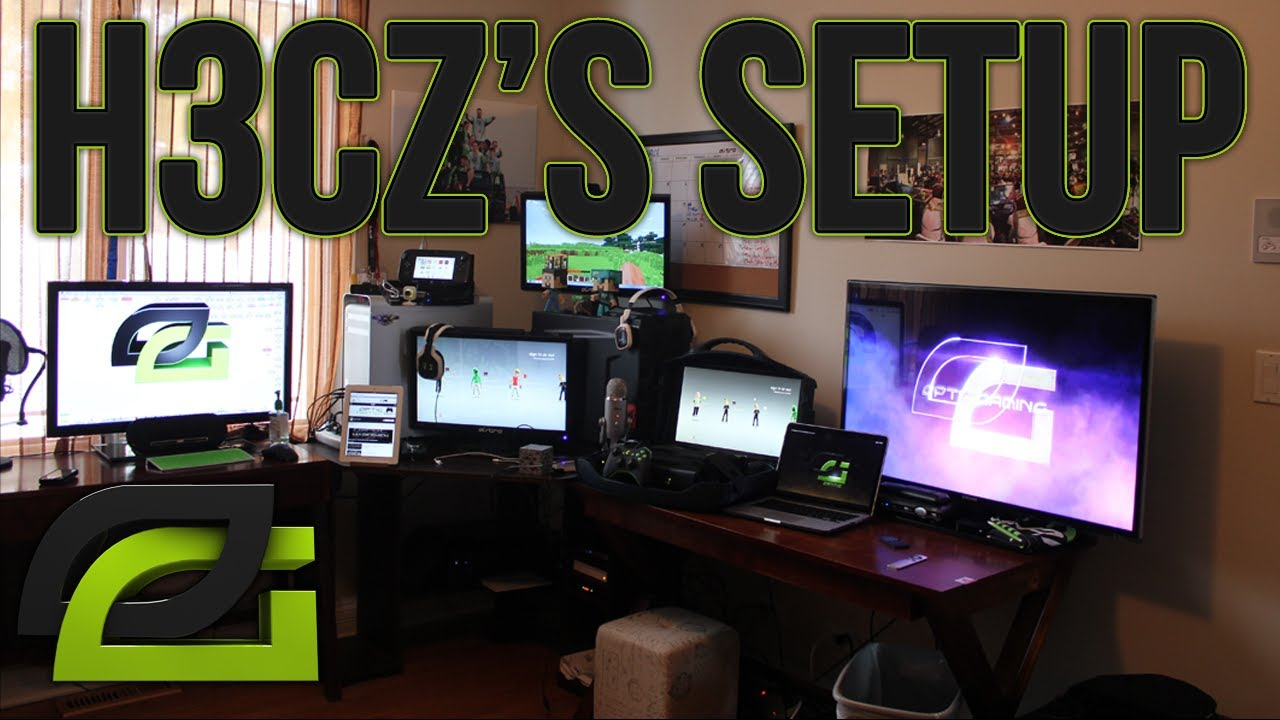 OpTic H3CZ: THE BEST ULTIMATE GAMING SET UP VIDEO 2013 Edition OpTic