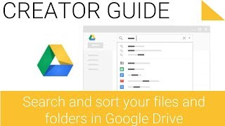 Search Files and Folders in Google Drive on the Web