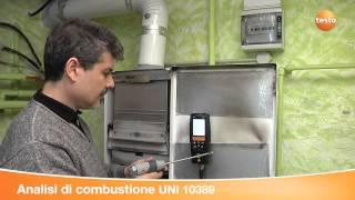 Analizzatori di combustione TESTO 320 e TESTO 330 LL V3