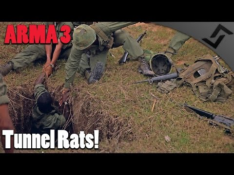 ARMA 3 Vietnam - Tunnel Rats! - Full 1st Person Gameplay Unsung Vietnam for ARMA 3 Gameplay