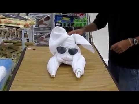 Dobradura com Toalha - Cachorro