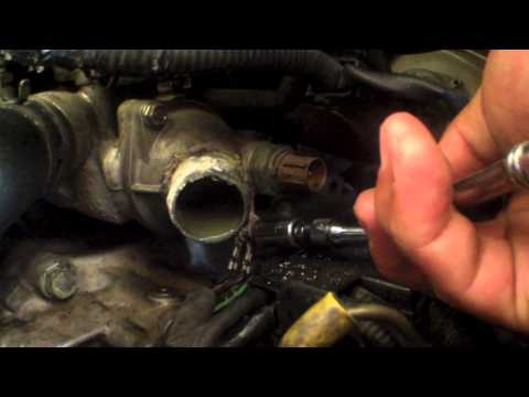 How to replace thermostat Honda Odyssey