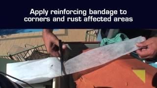 how to fix a gutter seam