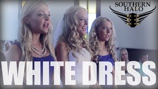 Southern Halo Little White Dress