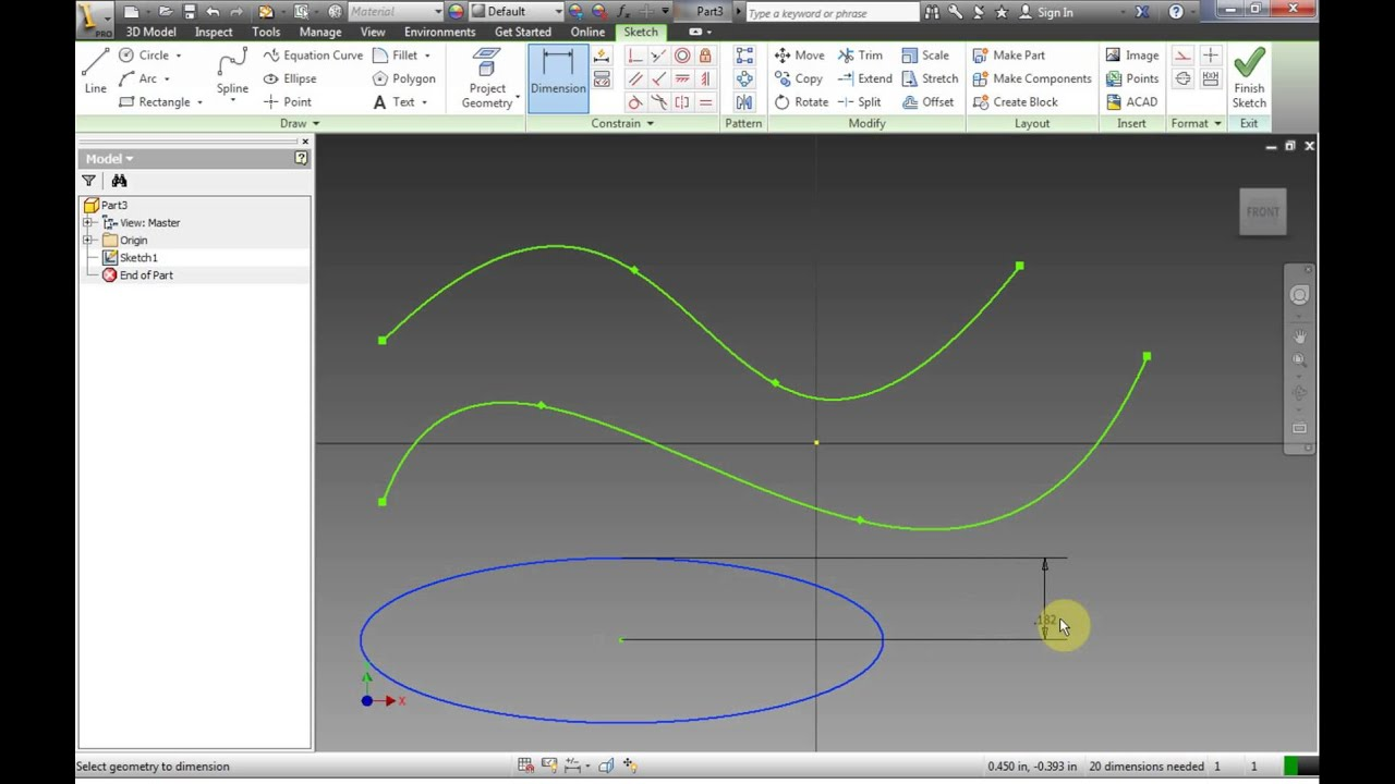 how to change a drawing in invetor to mm