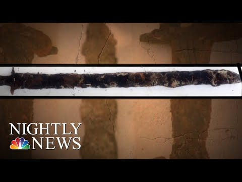 Girl Finds 1,500-Year-Old Sword In Swedish Lake | NBC Nightly News