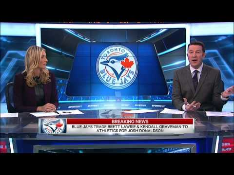 Blue Jays trade Lawrie, get Donaldson from A's