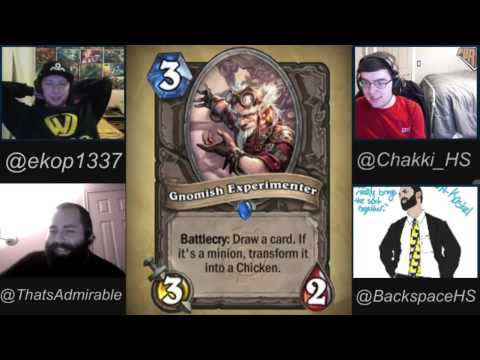 Hearthstone GvG Set Review with Ekop. Chakki. and Backspace! - 1 / 3