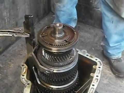 Partes de una transmisión manual