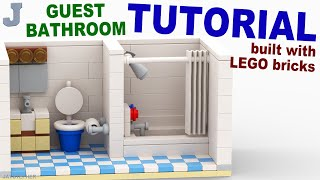 LEGO Guest Bathroom TUTORIAL