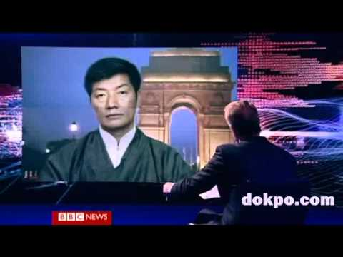 BBC HARDtalk - Lobsang Sangay, Leader of the Tibetan exile movement,  part 1