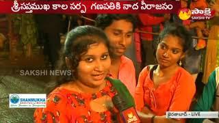 Vinayaka Celebrations at  Khairatabad || Huge Devotees Rush atGanesh Idol