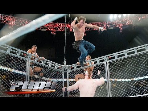 14 daredevil moves off the top of steel cages