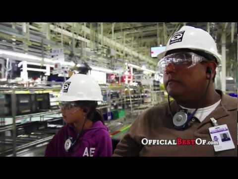 Toyota Motor Manufacturing, Inc. Visitor & Education Center - Best Plant Tour - Texas 2012