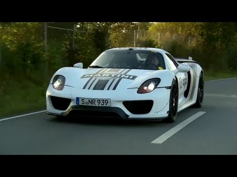 Porsche 918 Spyder: a Ride In Porsche's Hybrid Hypercar - CHRIS HARRIS ON CARS