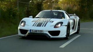 Porsche 918 Spyder: a Ride In Porsche's Hybrid Hypercar - /CHRIS HARRIS ON CARS
