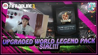 ~OMG World Legend Pack From Lottery!~ World Legend Special Lottery Opening - FIFA ONLINE 3