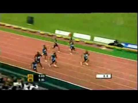 Asafa Powell Different Angles 9.72