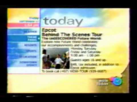 WDW Today Walt Disney World Resort TV part 5