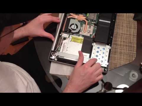 Replacing the hard drive in Asus N550JV-DB71 laptop with a SSD