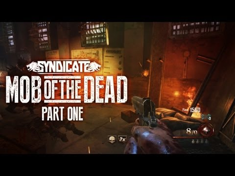 New! Black Ops 2 Zombies 'Mob Of The Dead' Gameplay! Live w/Syndicate (Part 1)