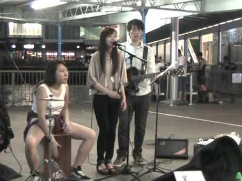 Three Times cover 羅嘉良 歲月的童話 @Star Ferry Pier TST (04062015 )