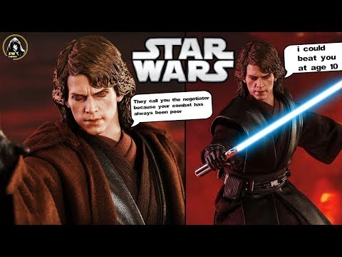 """What Anakin Was Supposed To Say Right Before """"YOU UNDERESTIMATE MY POWER"""" - George Lucas Explains"""