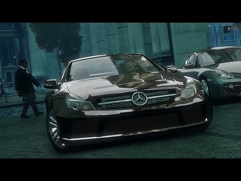 GTA 4 Mercedes SL65 AMG !!  ENB series Extreme Graphics  [ Car mods + RealizmIV + VisualIV ]